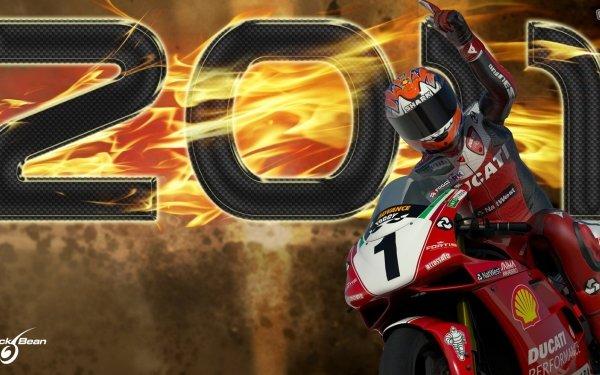 Video Game Sbk 2011: Superbike World Championship Motorcycle Game Ducati Superbike Championship Bike HD Wallpaper | Background Image