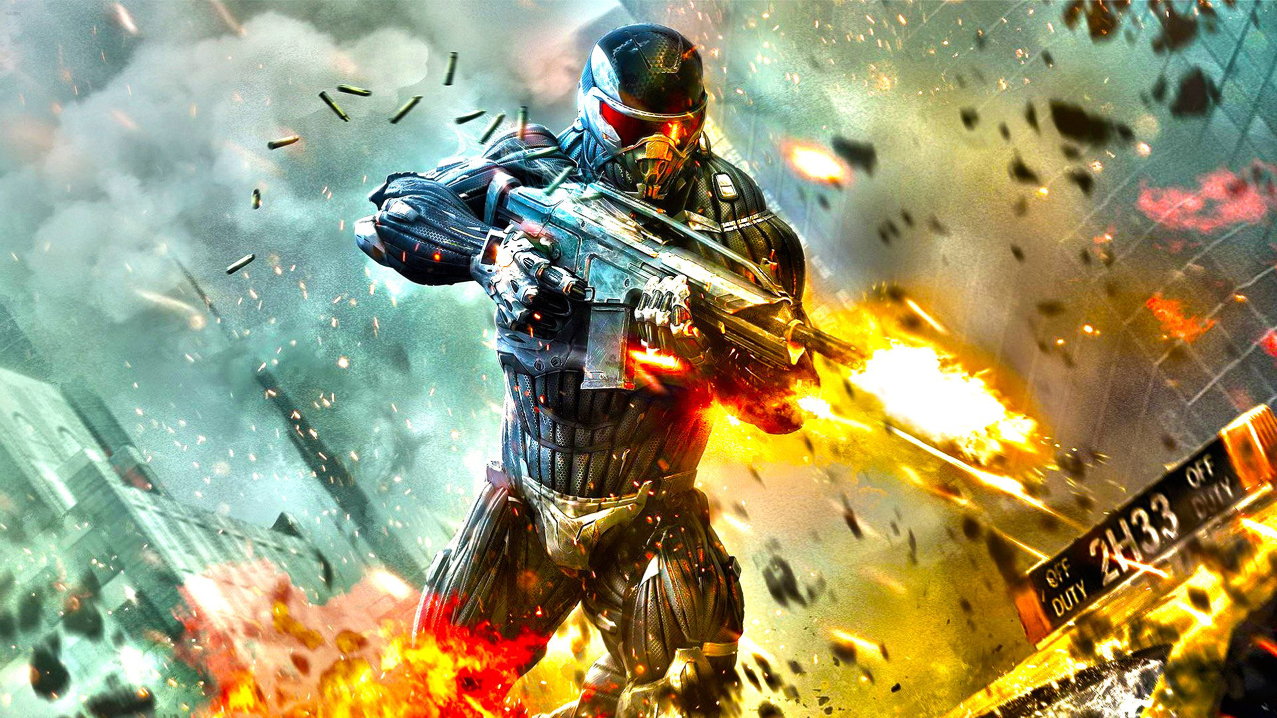 Action Game Hd Wallpaper Collection: Crysis 2 HD Wallpaper
