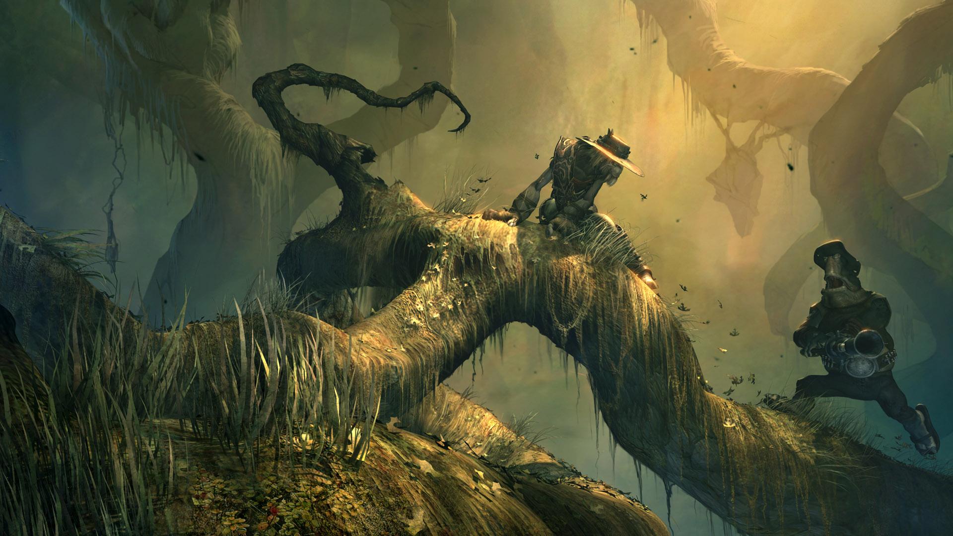 Oddworld hd wallpaper background image 1920x1080 id - Fantasy game wallpaper ...