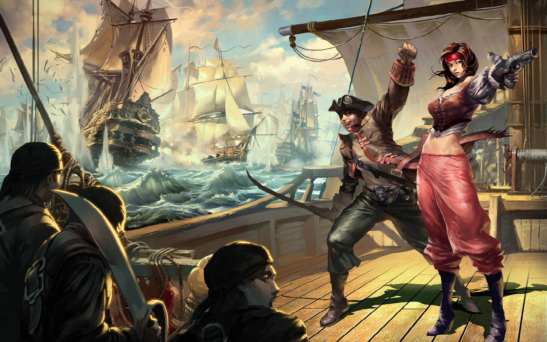 pirate wallpaper 1600x900 - photo #30