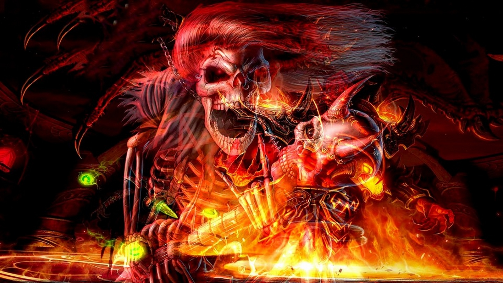 hot rocker skelly wallpaper and background 1600x900 id