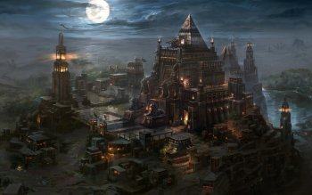 Fantasy - Building Wallpapers and Backgrounds ID : 264906
