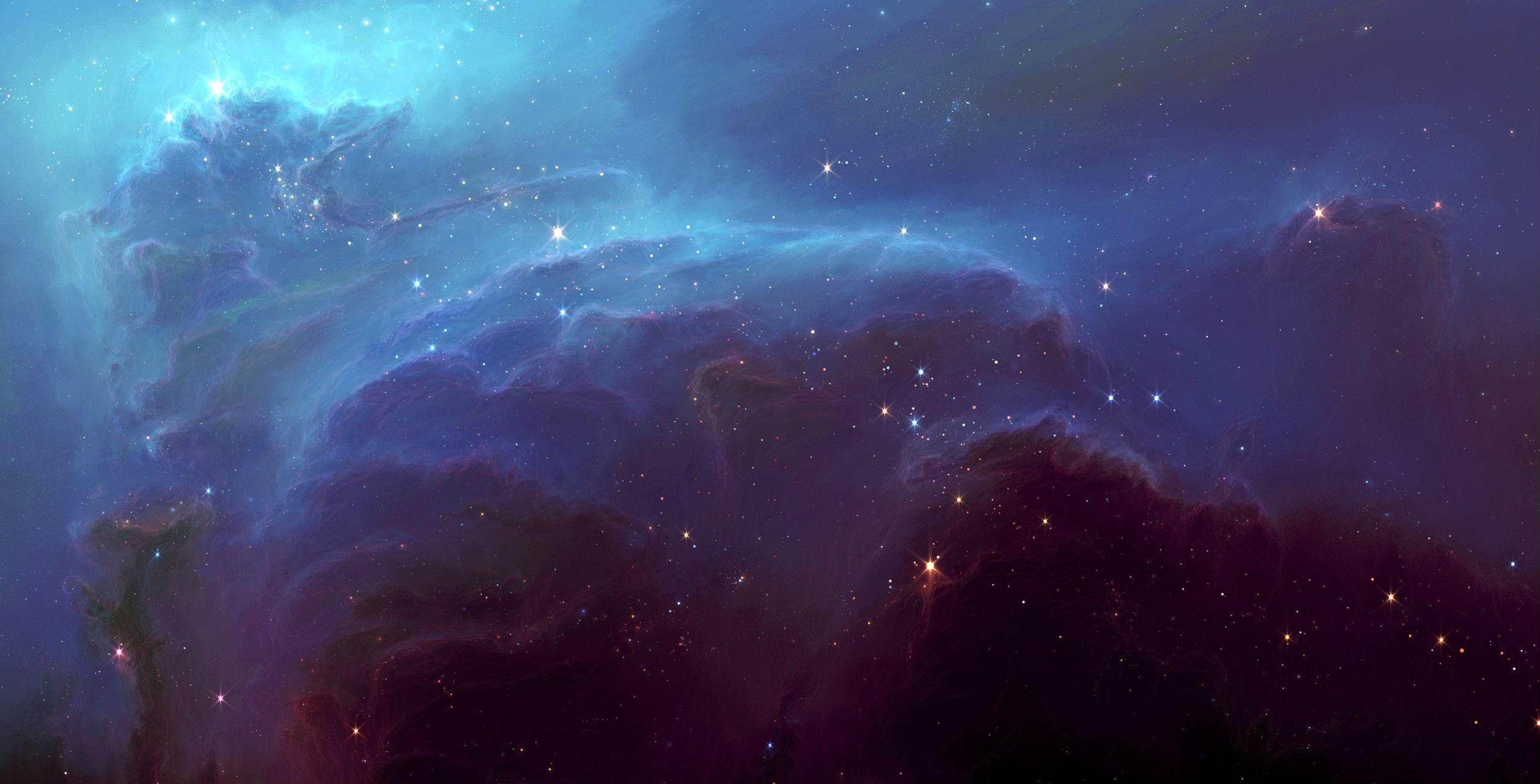 nebula hd wallpaper | background image | 2555x1302 | id:265686