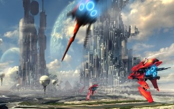 Sci Fi - City Wallpapers and Backgrounds ID : 265068
