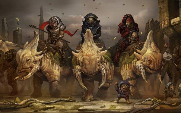 Video Game Mass Effect Grunt Urdnot Wrex HD Wallpaper | Background Image