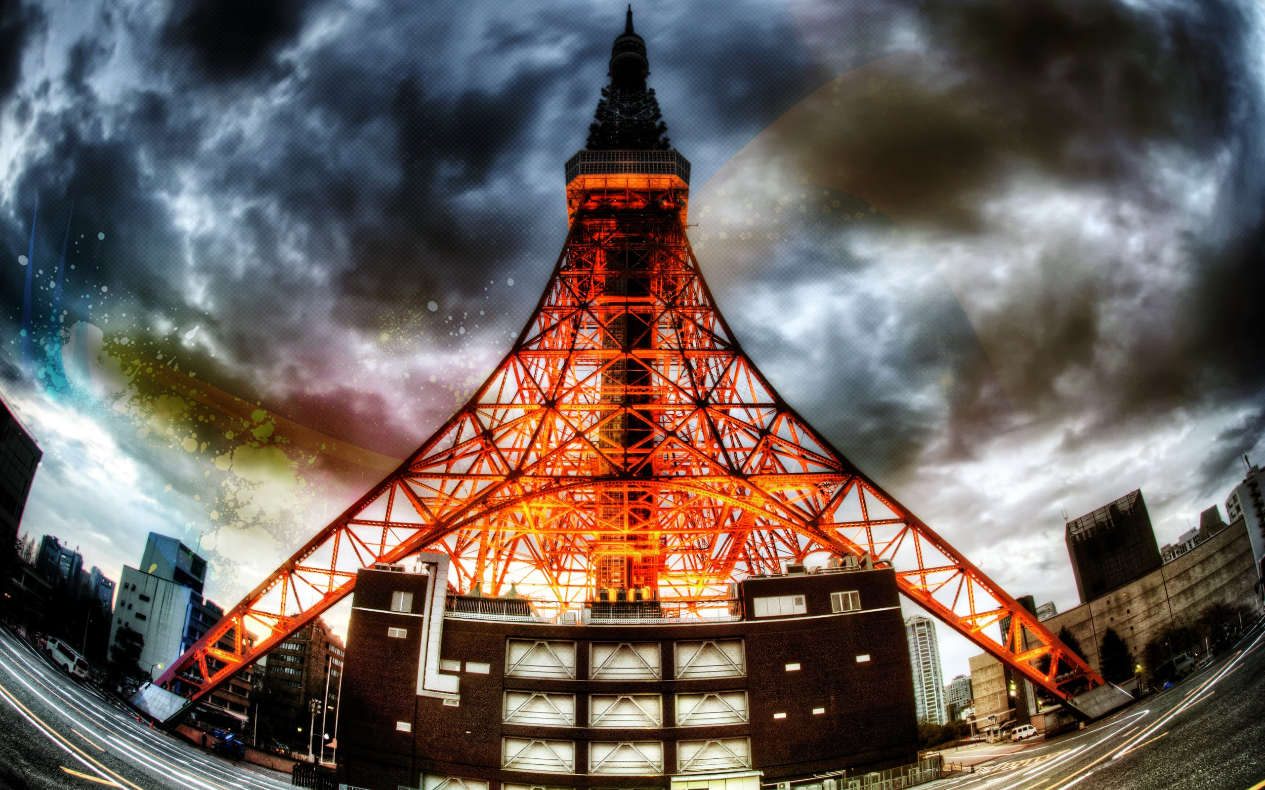 Tokyo Tower Full Hd Wallpaper And Background Image