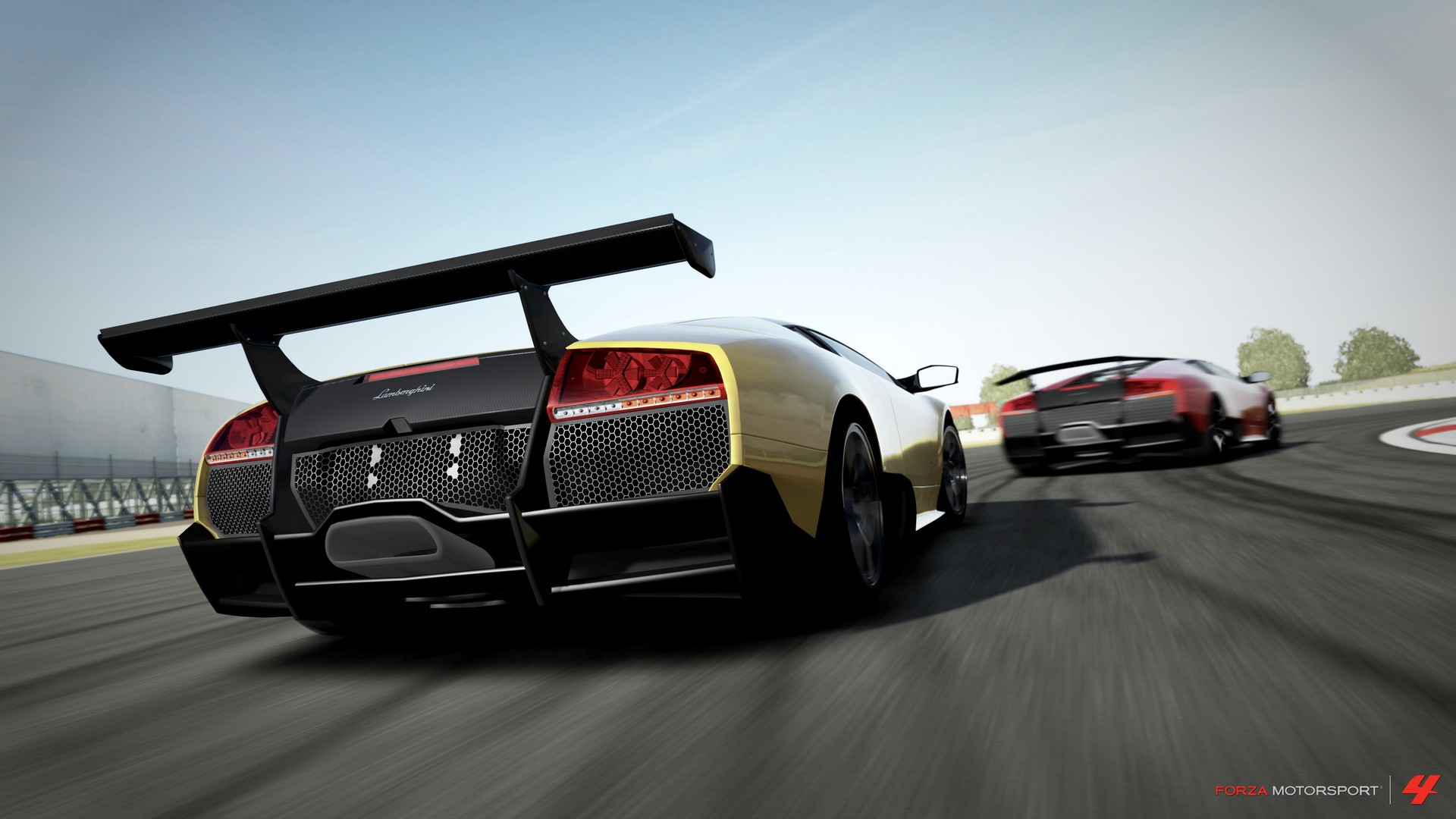 Racing Car Games Hd Wallpaper: Forza Motorsport Full HD Wallpaper And Background Image