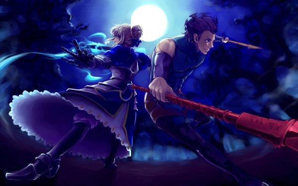 Anime Fate/Zero Fate Series Saber Lancer HD Wallpaper | Background Image