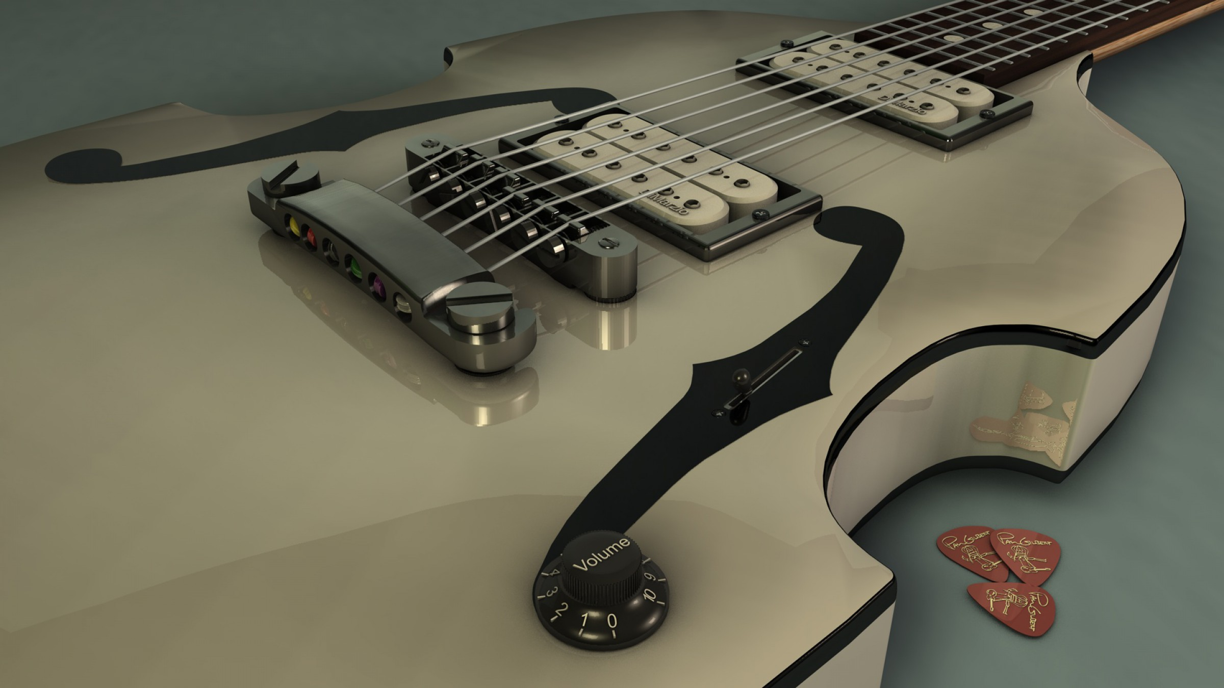 guitar full hd wallpaper and background 2400x1350 id
