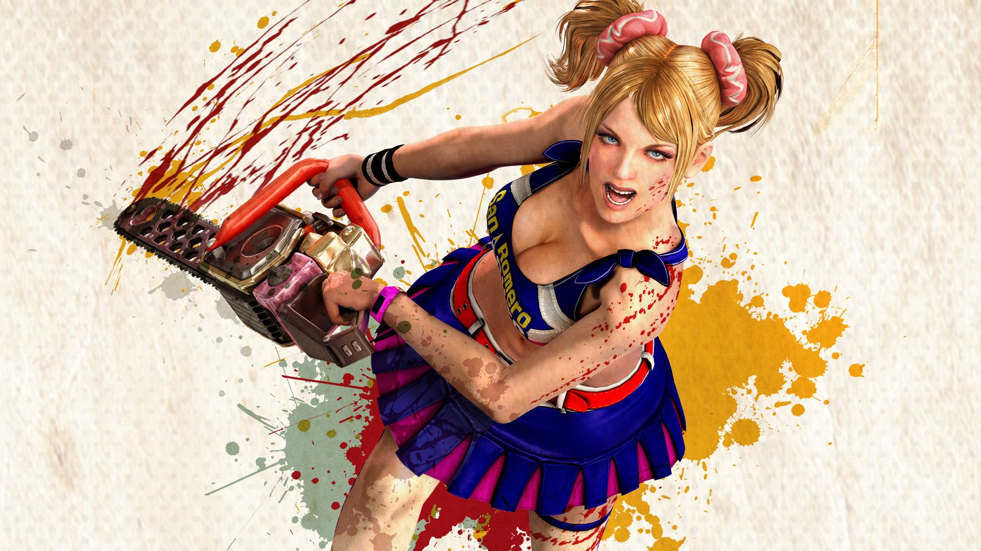 Lollipop Chainsaw Hd Wallpaper Background Image 1920x1080 Id