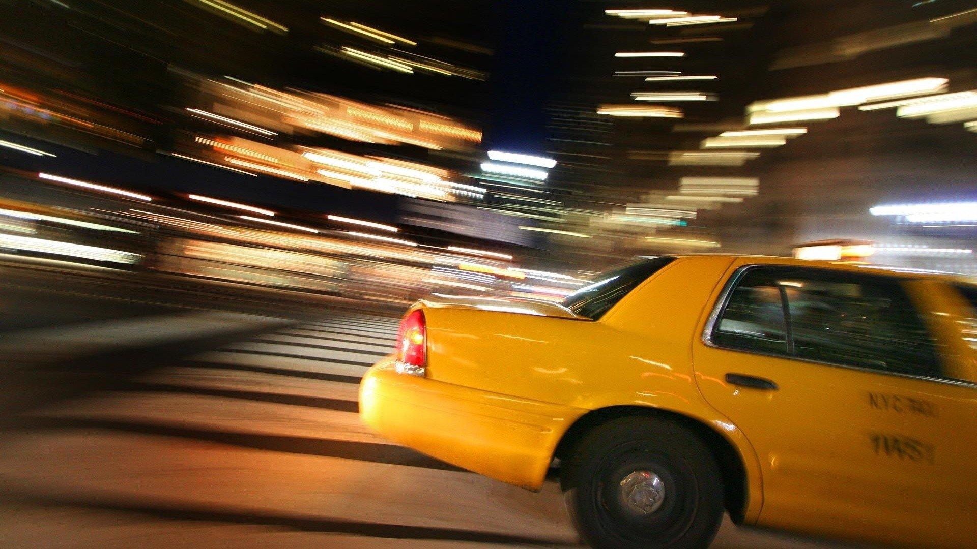 New York City Taxi Hd Wallpaper Hintergrund 1920x1080