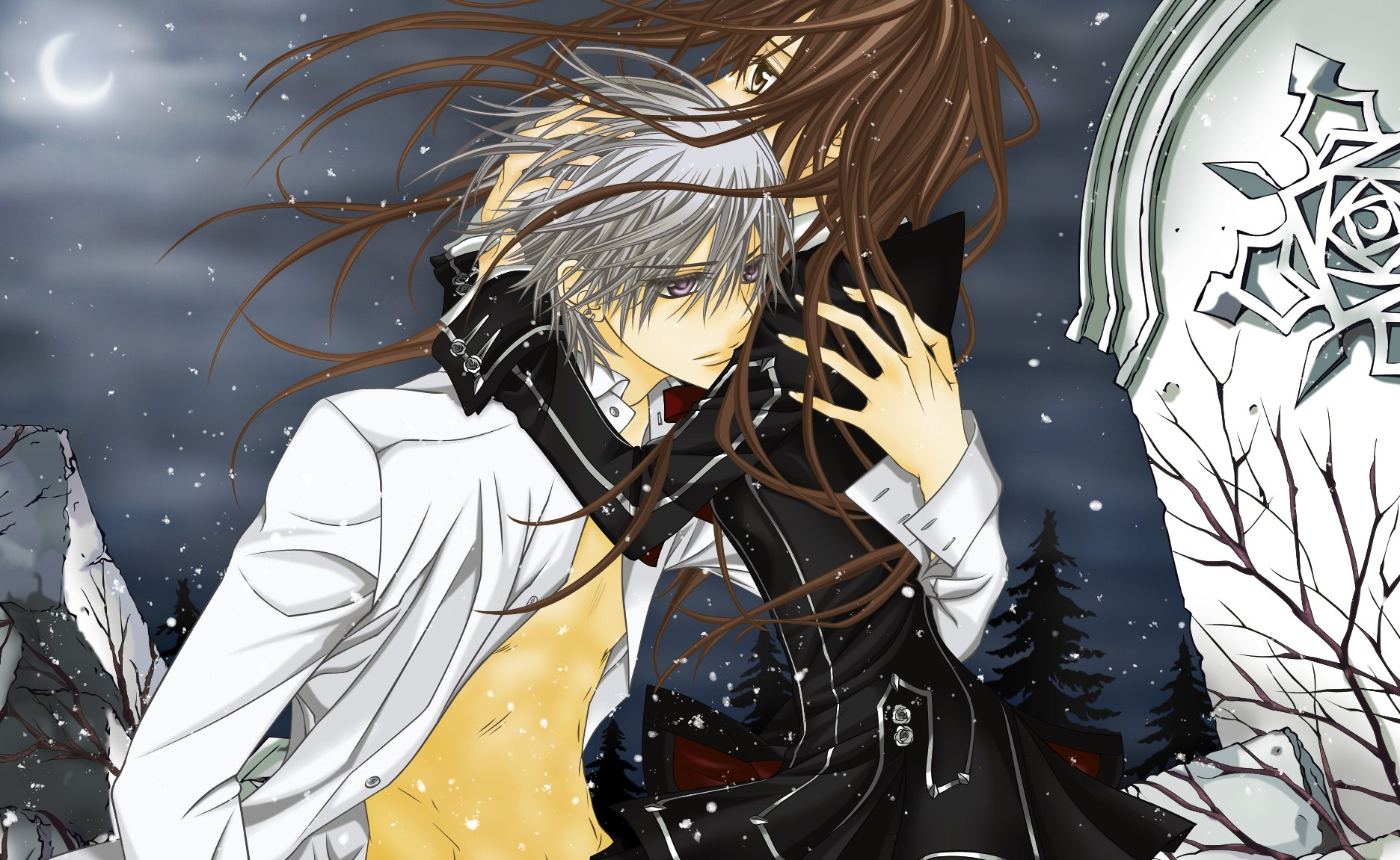Vampire knight wallpaper and background image 1872x1151 - Vampire knight anime wallpaper ...