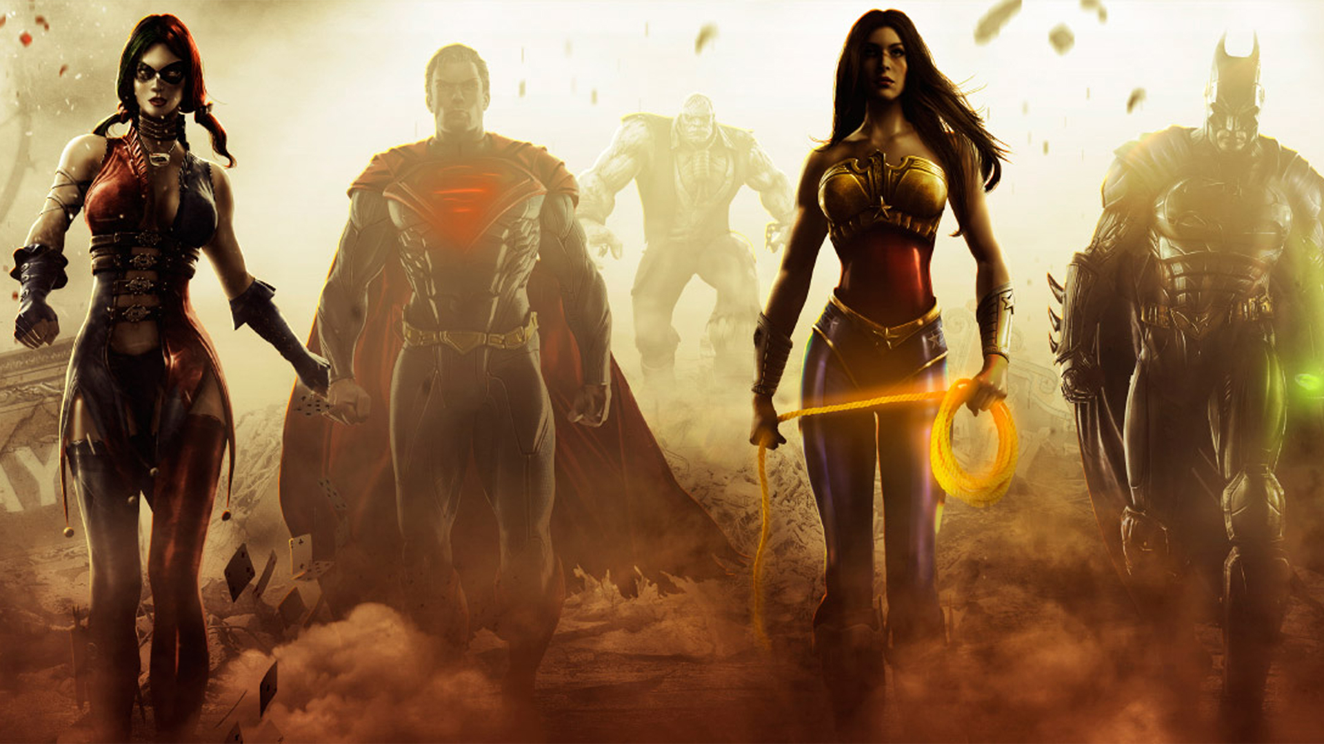 Injustice gods among us full hd wallpaper and background image video game injustice gods among us wallpaper voltagebd