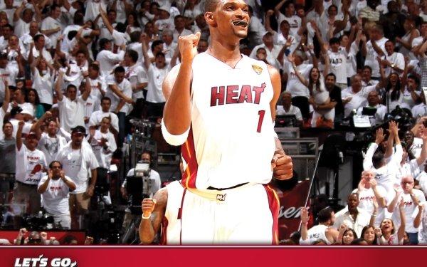 Sports Miami Heat Basketball Chris Bosh HD Wallpaper   Background Image