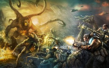 Video Game - Gears Of War Wallpapers and Backgrounds ID : 271614