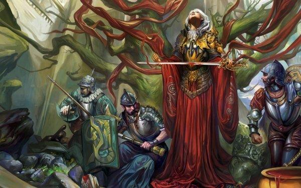 Fantasy Warrior Woman HD Wallpaper | Background Image
