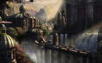 Fantasy - City Wallpapers and Backgrounds ID : 272694
