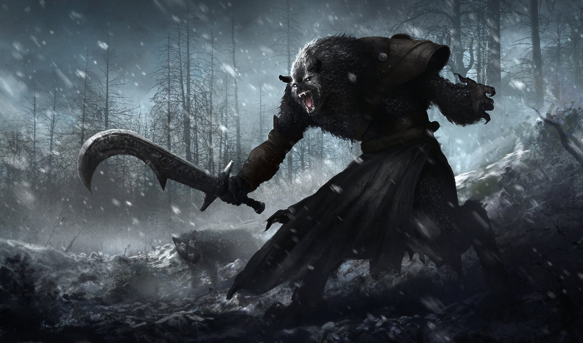 Lonewolf Full HD Wallpaper and Background | 1920x1132 | ID ...