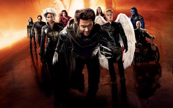 Movie X-Men Wolverine Professor X Patrick Stewart Halle Berry Cyclops Hugh Jackman Beast HD Wallpaper | Background Image