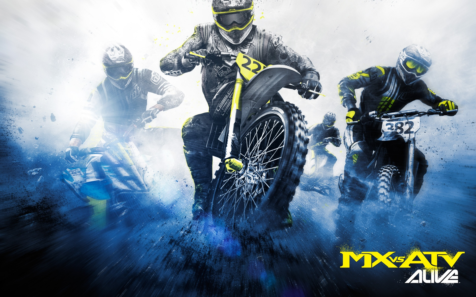 MX vs  ATV Alive is an off-road racing game HD Wallpaper