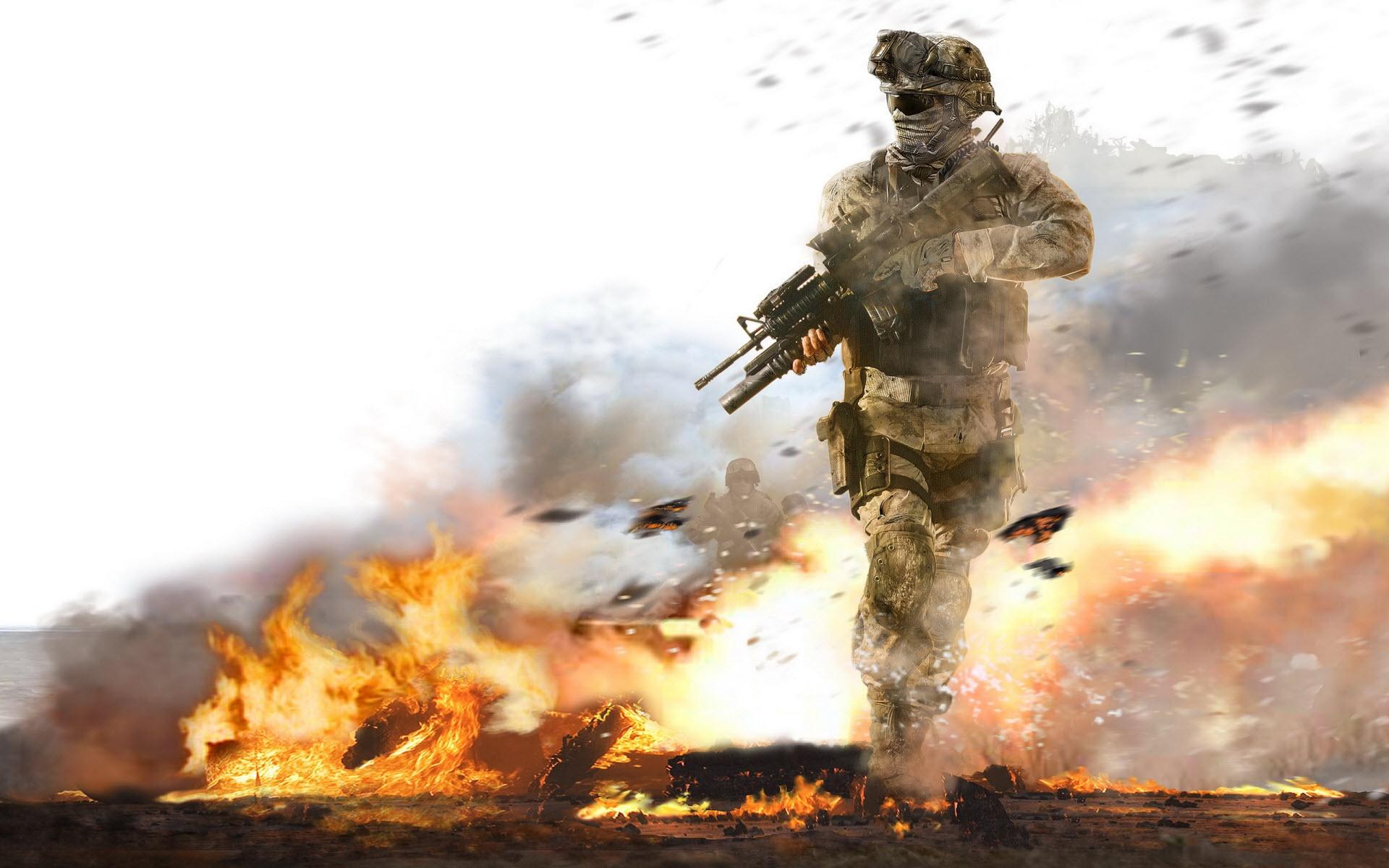 Video Game - Call Of Duty  Buckwild Rangers 75th Duty Call Warfare Bullet S.w.a.t. Marines Wallpaper