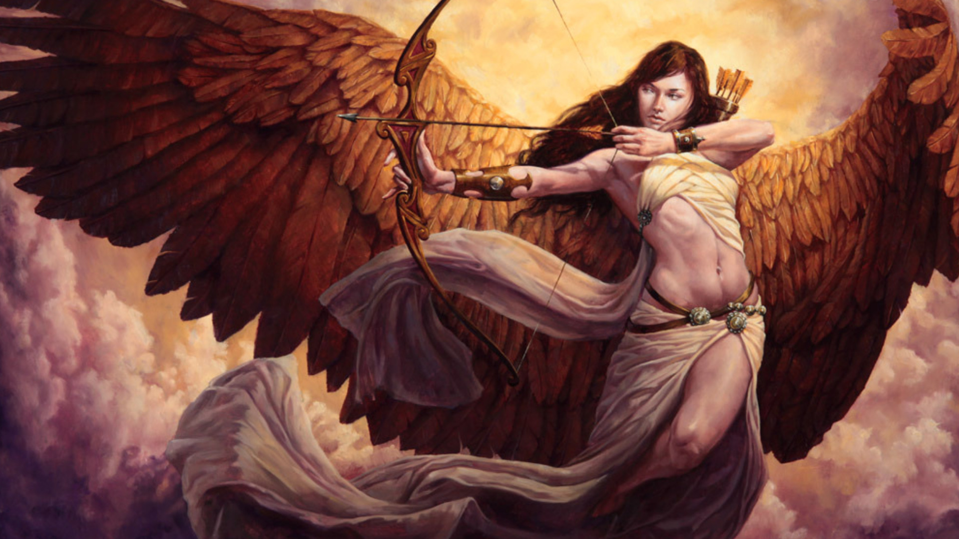 Fantasy - Angel Warrior  Wallpaper