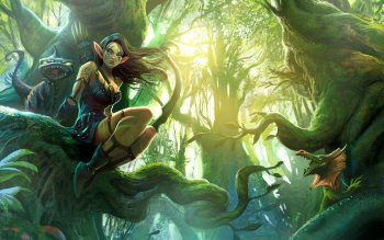 Fantasy - Elf Wallpapers and Backgrounds ID : 274714