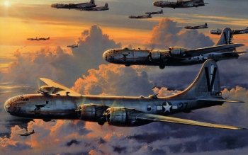 Militari - Boeing B-29 Superfortress Wallpapers and Backgrounds ID : 274748
