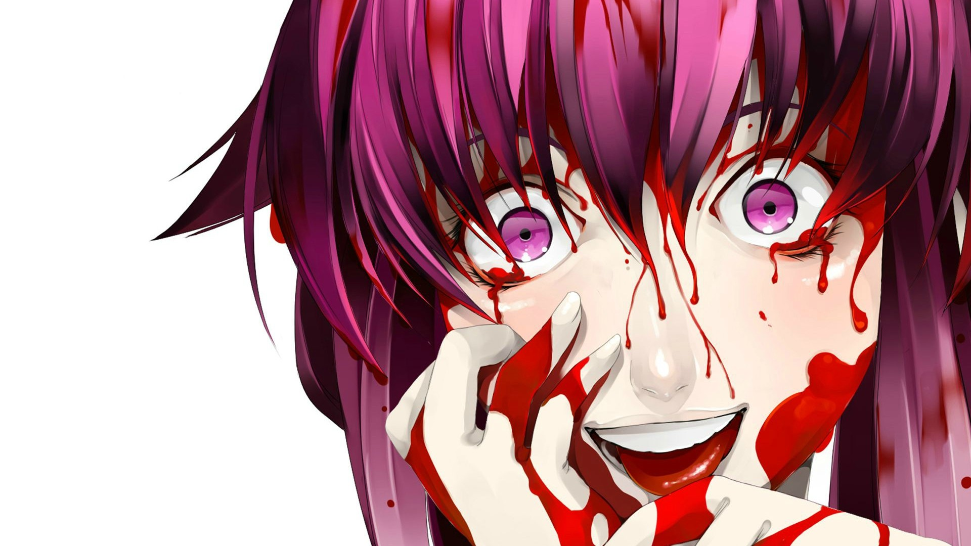 Gasai Yuno Wallpaper: Mirai Nikki HD Wallpaper