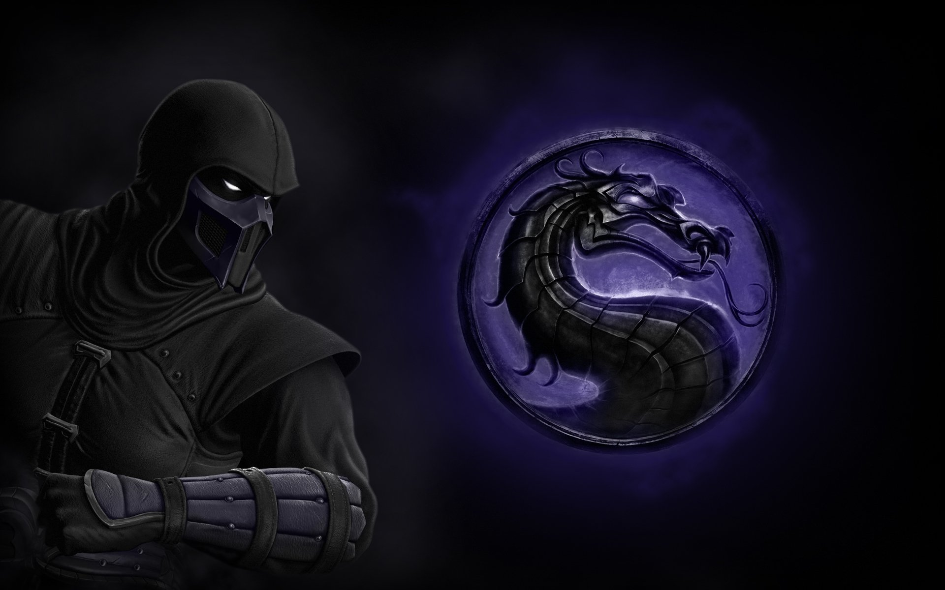 Video Game - Mortal Kombat  Logo Wallpaper