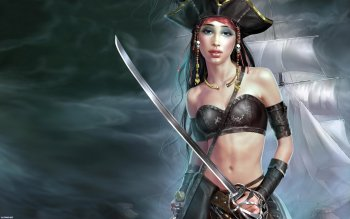 Fantasy - Pirate Wallpapers and Backgrounds ID : 275446