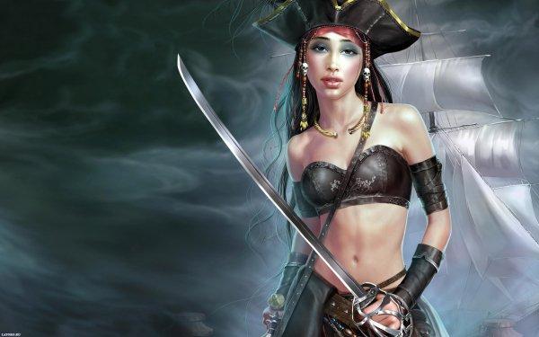 Fantasy Pirate HD Wallpaper | Background Image