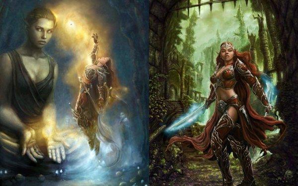 Fantasy Women Warrior HD Wallpaper | Background Image