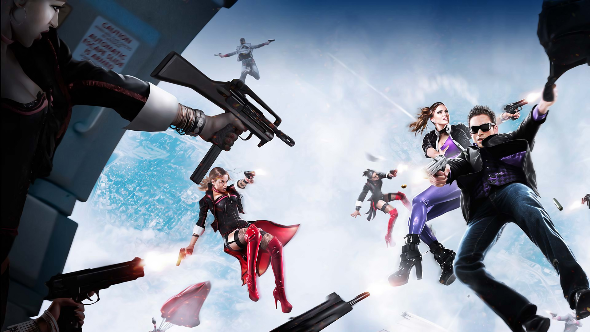 Saints Row 4 Wallpapers: Saints Row: The Third HD Wallpaper