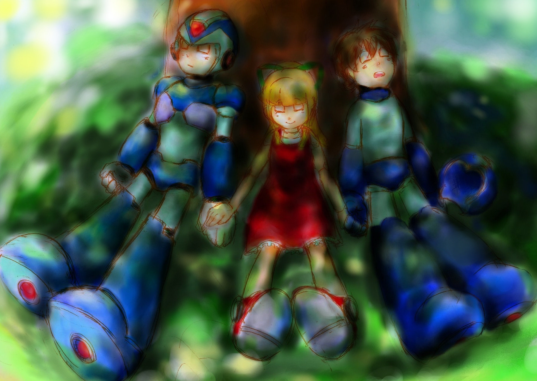 Megaman Wallpaper and Background | 1798x1278 | ID:276484