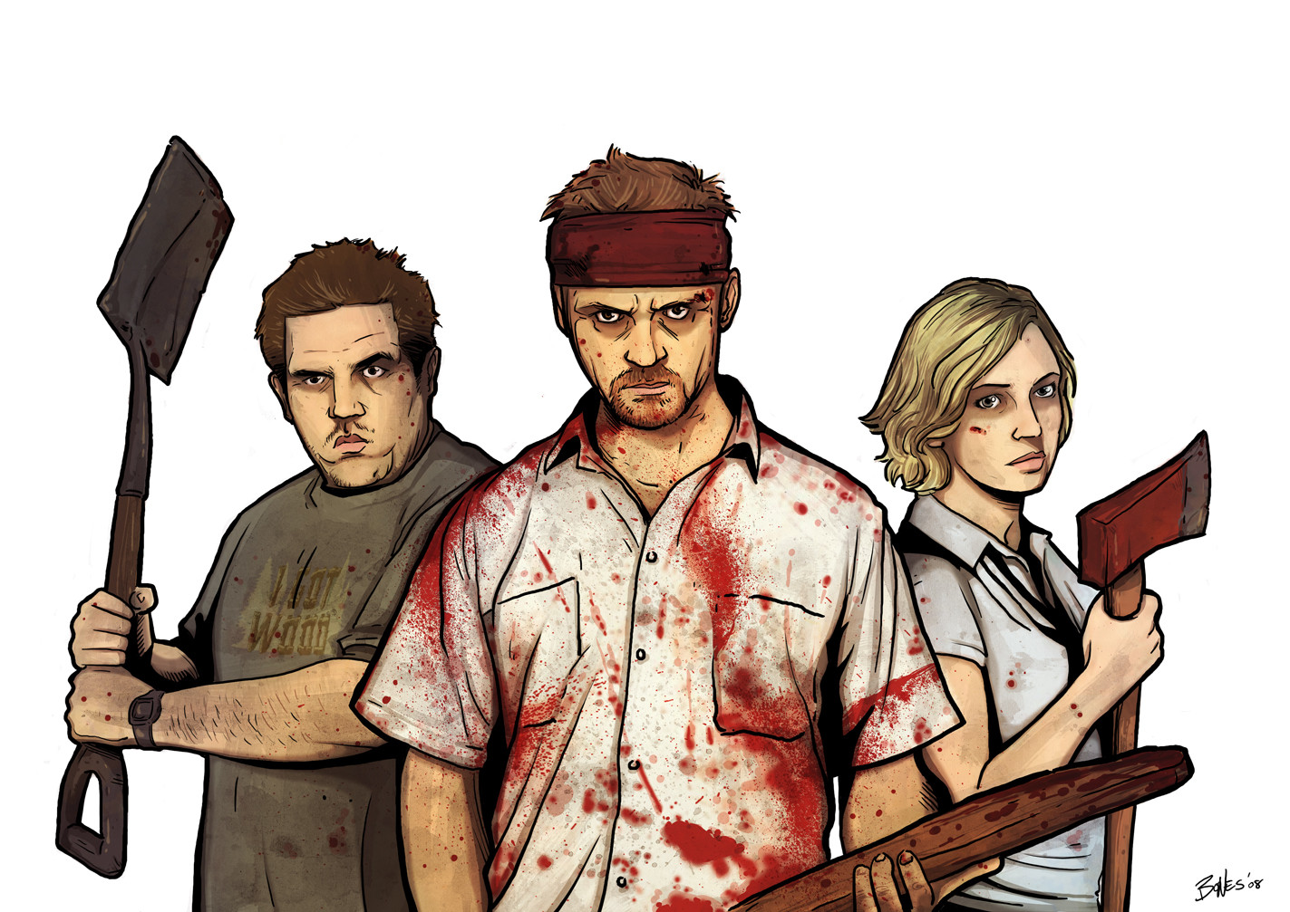 Shaun Of The Dead Wallpaper And Background Image 1423x1007 Id