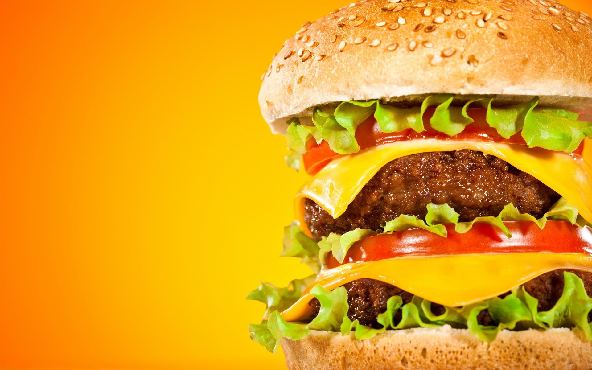 Burger HD Wallpaper
