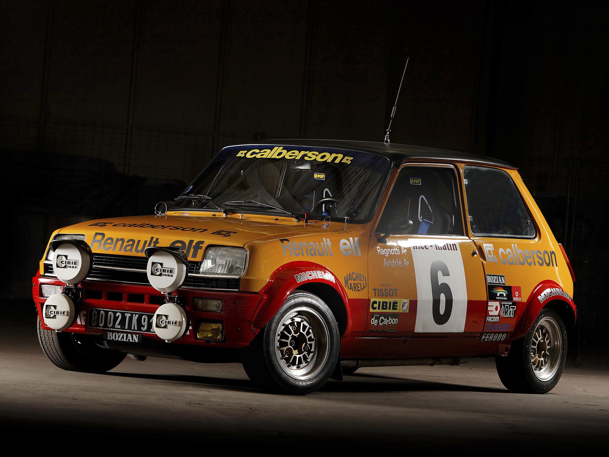 Renault 5 Alpine Rally Car 1977 Fonds D 233 Cran Arri 232 Res
