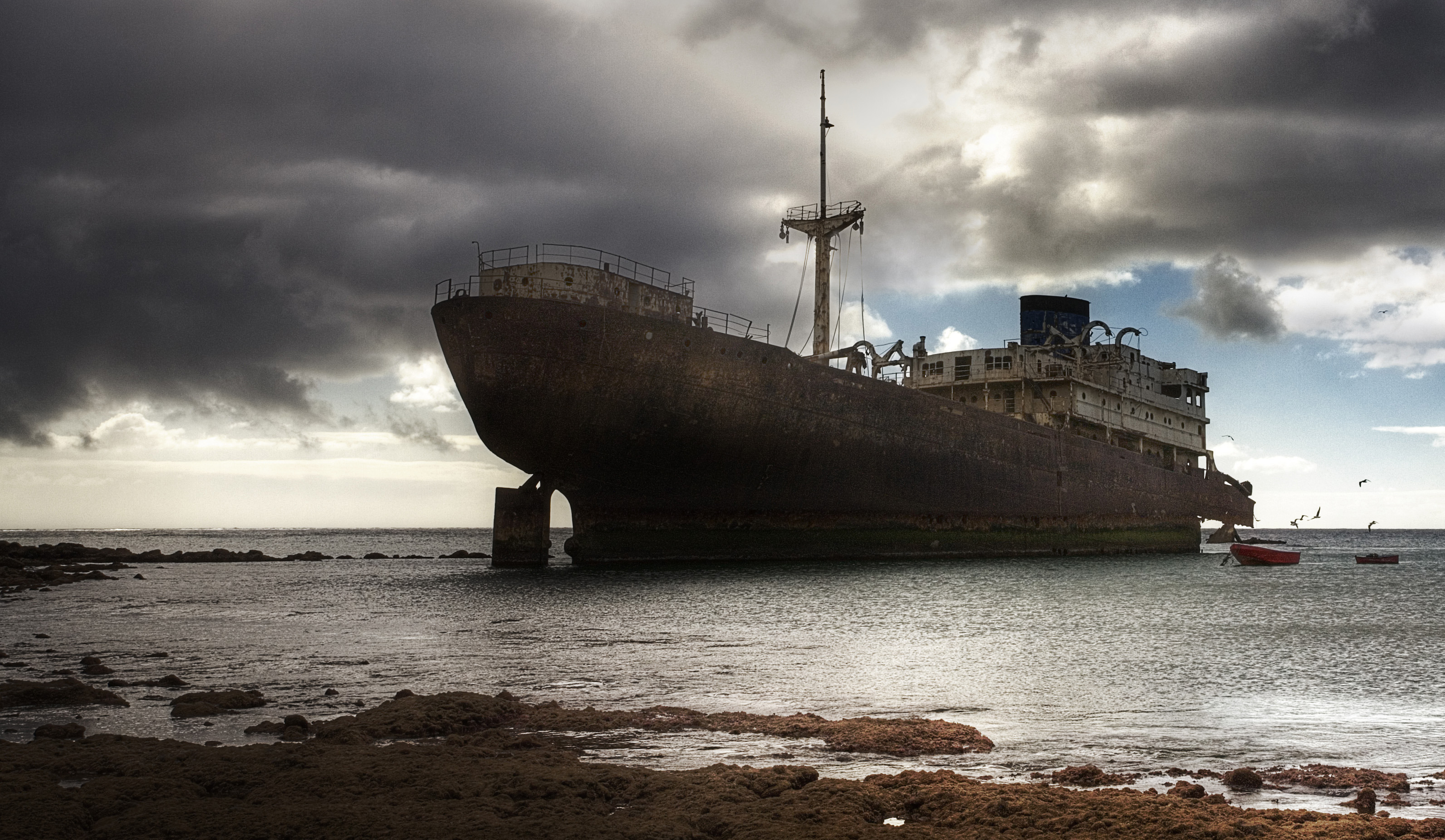 Vehicles Wreck Wallpaper Shipwreck Full HD