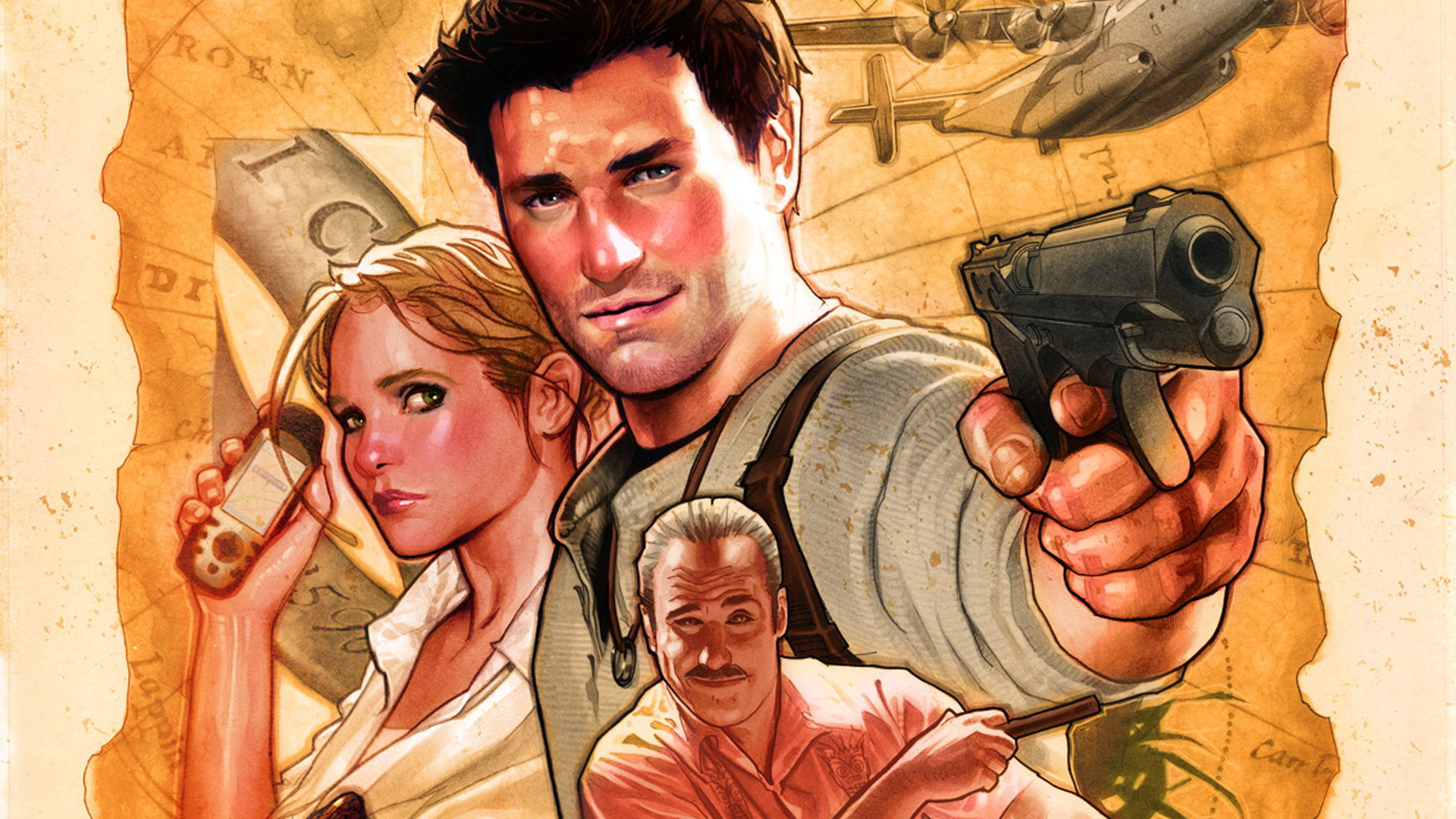 Uncharted 3 Drakes Deception Full HD Wallpaper And Background