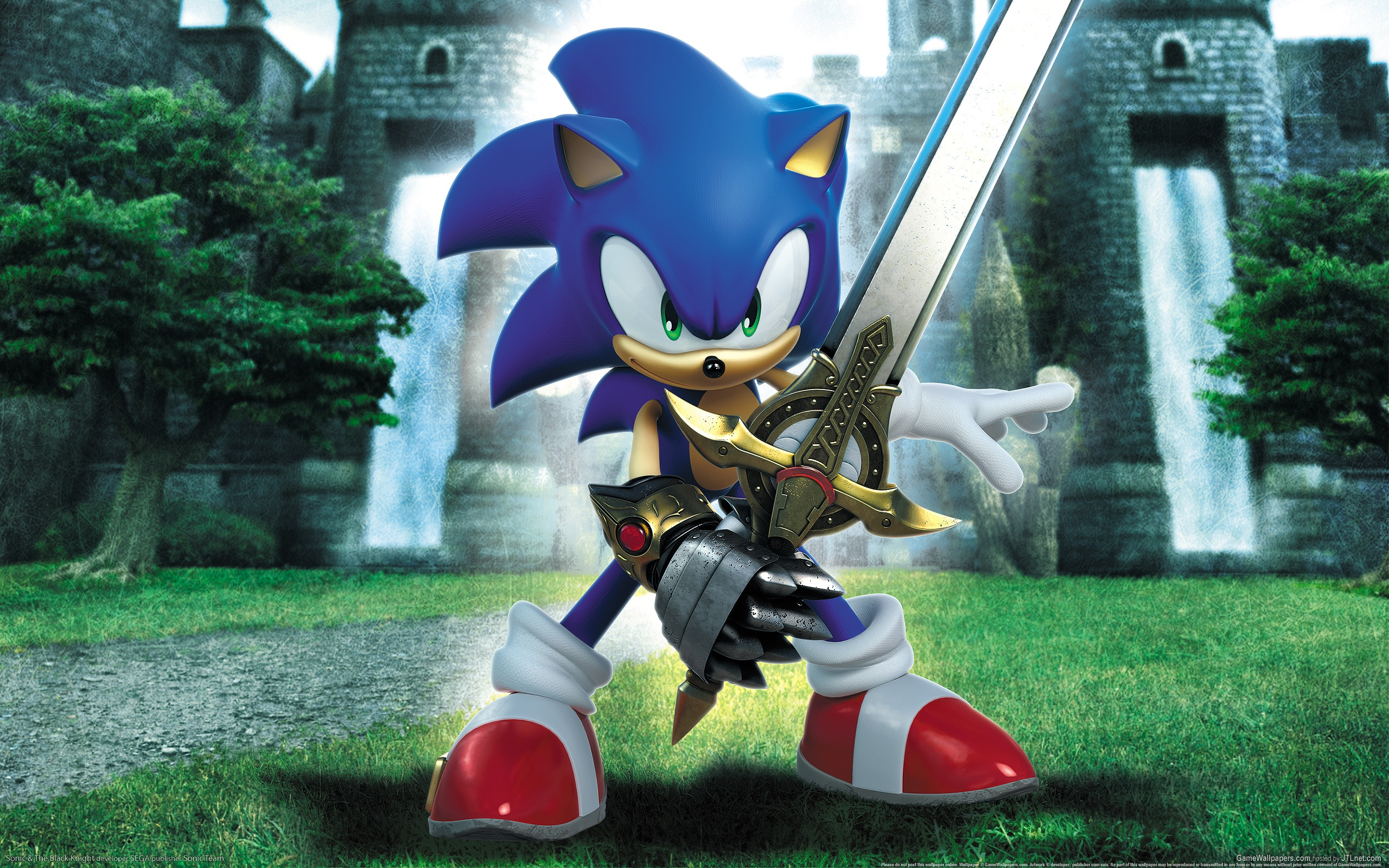 12 Sonic And The Black Knight HD Wallpapers