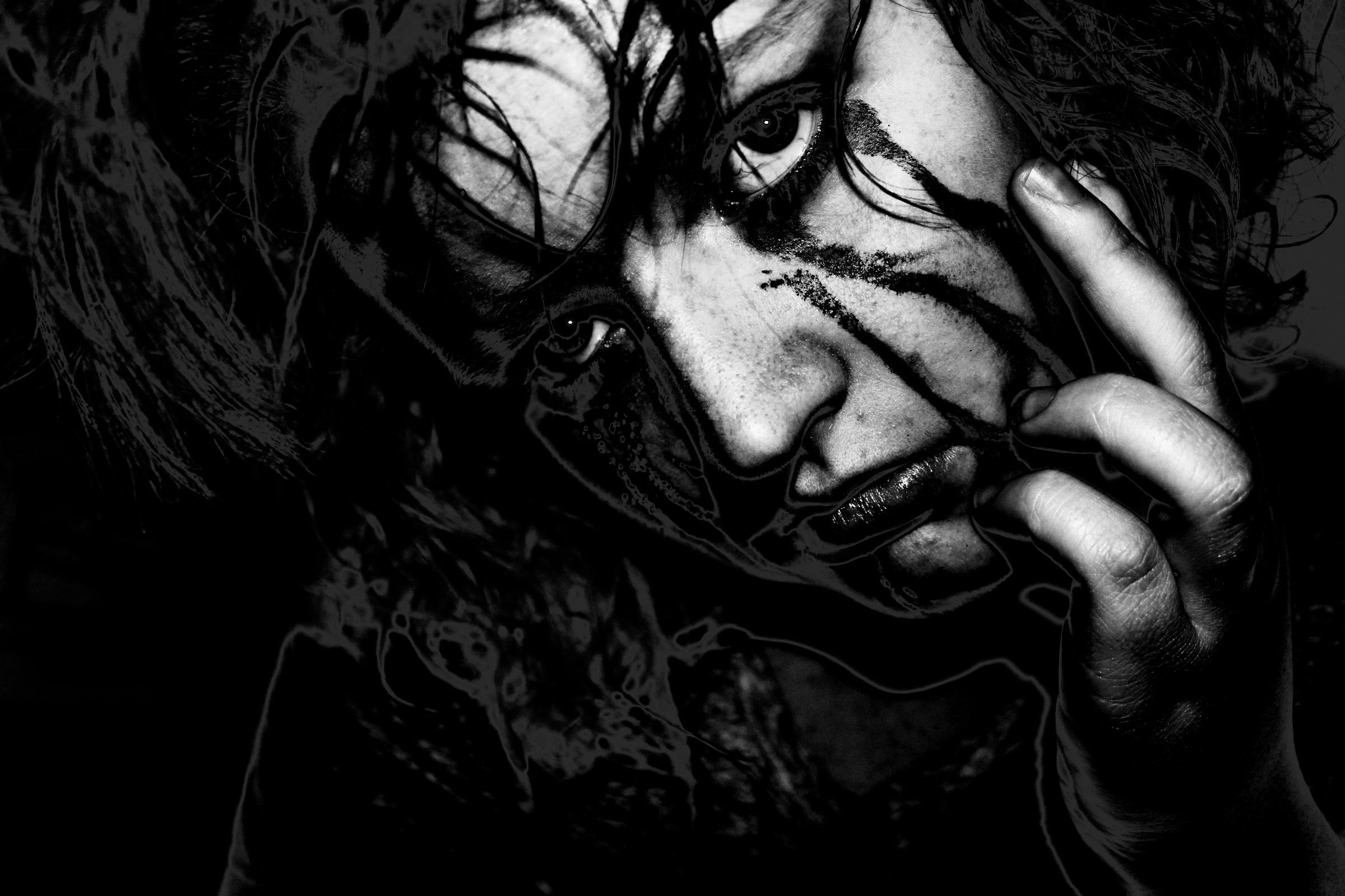 The crow hd wallpaper background image 2400x1600 id - The crow wallpaper ...