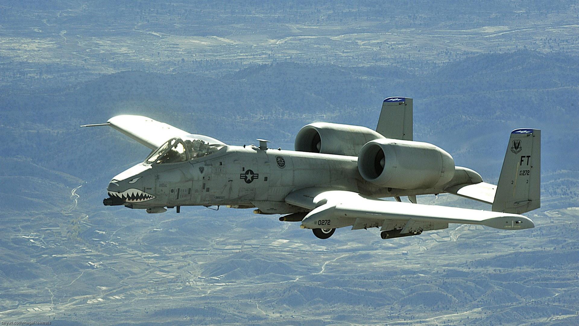Fairchild Republic A-10 Thunderbolt II Full HD Wallpaper ...