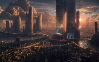 Sci Fi - City Wallpapers and Backgrounds ID : 279994