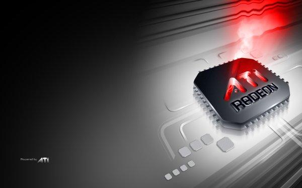 Technology ATI Computer Hardware Logo ATI Radeon HD Wallpaper | Background Image