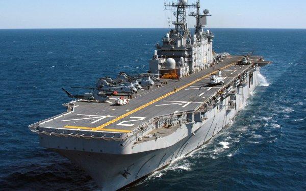 Military United States Navy Warships Amphibious Assault Ship Warship USS Saipan HD Wallpaper   Background Image