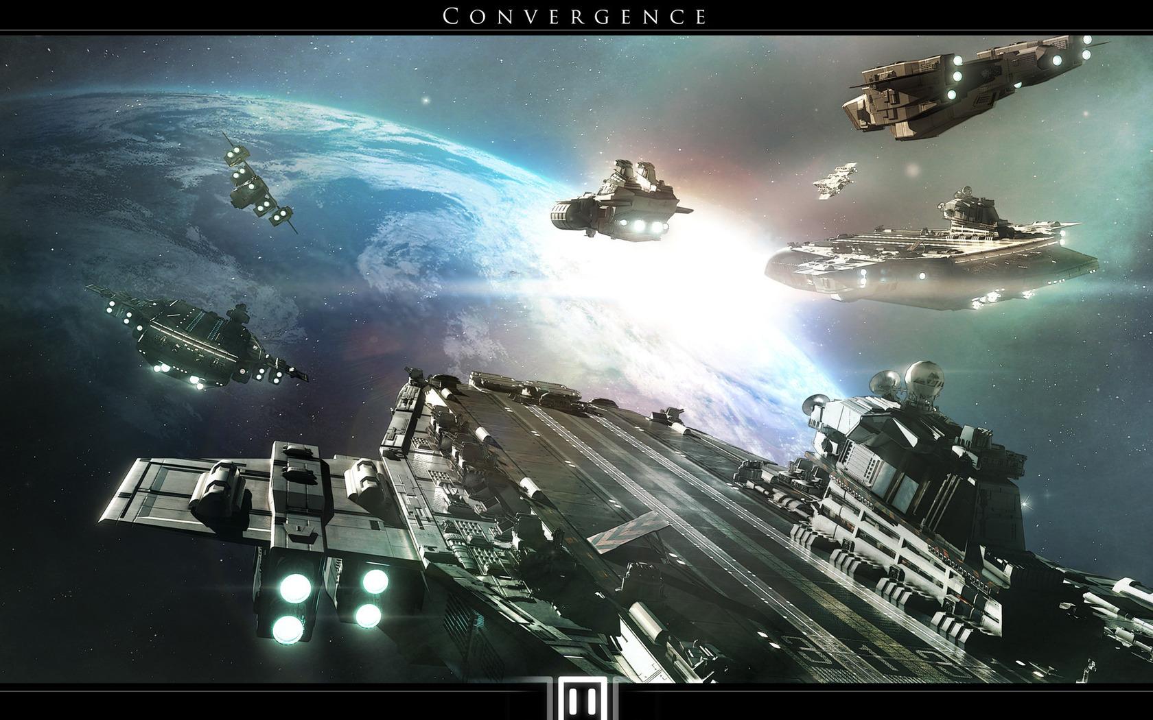 Spaceship Wallpaper an...