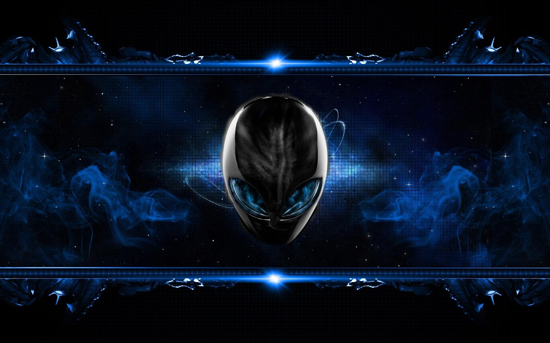 10 Most Popular Black And Blue Gaming Wallpaper Full Hd: Alienware HD Wallpaper
