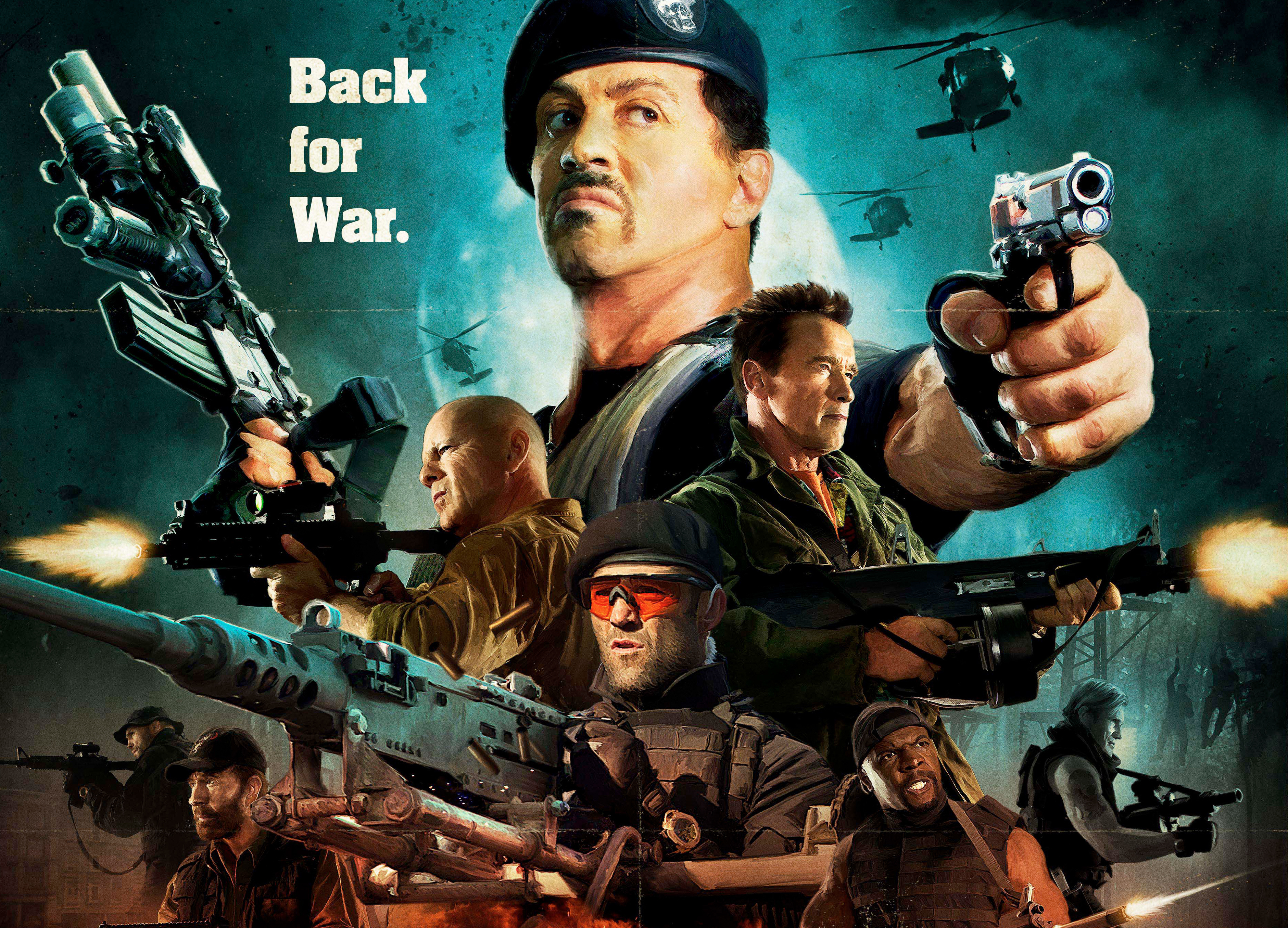 the expendables 2 hd wallpaper | background image | 3762x2712 | id