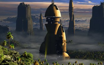 Sci Fi - Architecture Wallpapers and Backgrounds ID : 280004